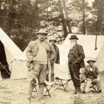 Roosevelt & Burroughs camping in Yellowstone