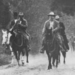 Roosevelt & Muir horseback riding in Yosemite